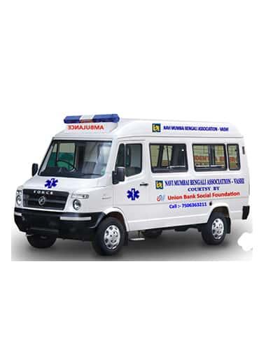 Gurdeep Ambulance Services Vehicle