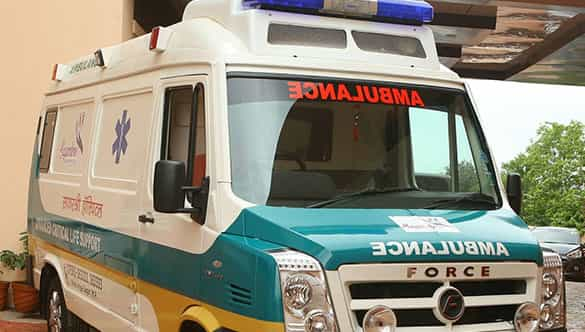 Gurdeep Ambulance Vehicle